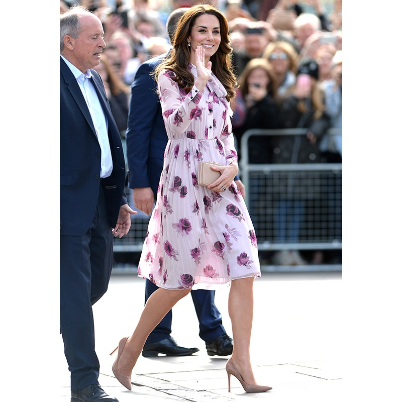Kate middleton kleid lila