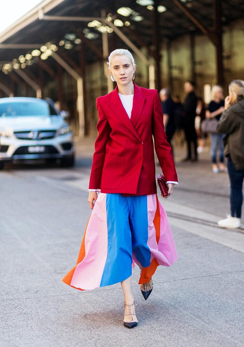 The Best Street,Style Looks From Australian Fashion Week