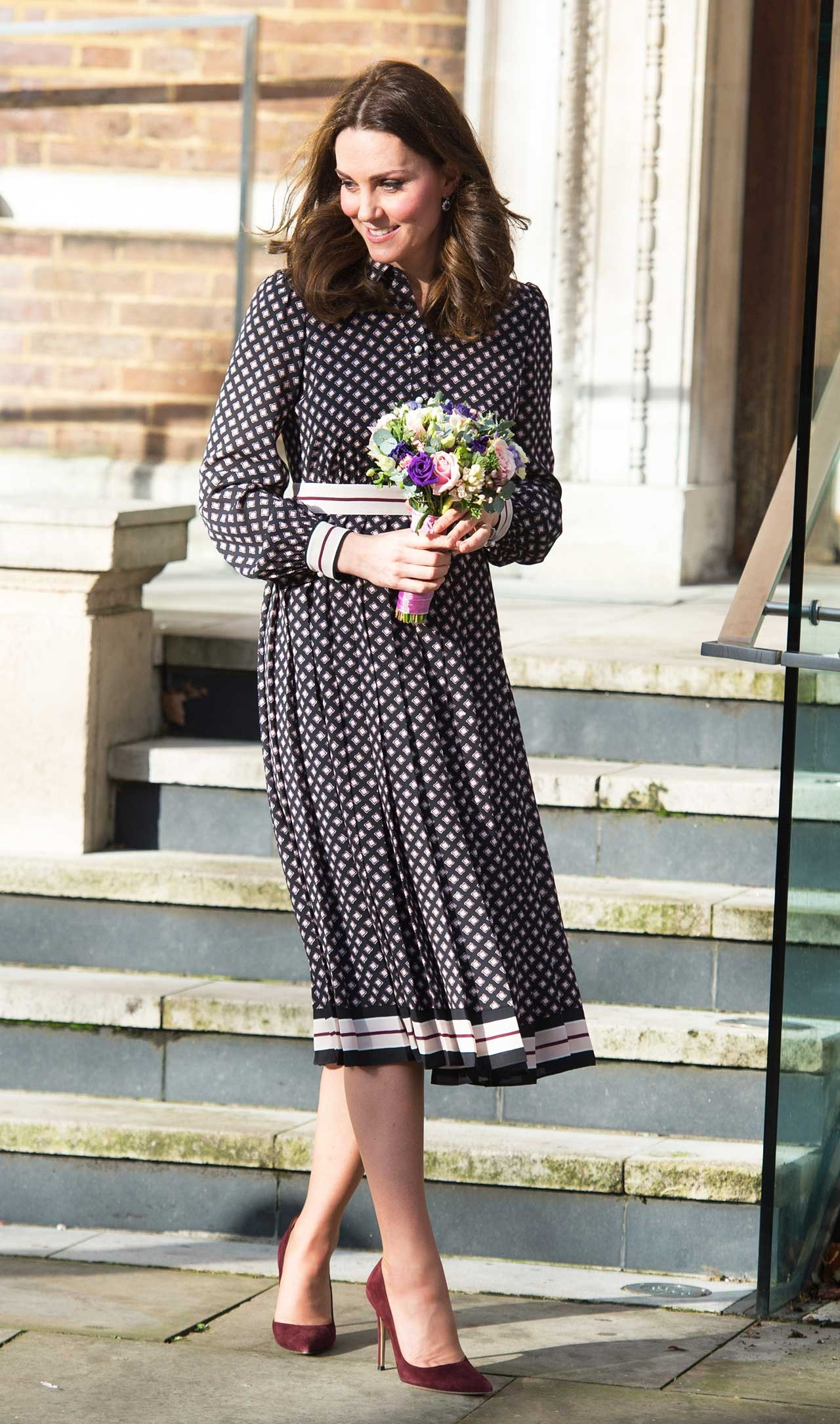 Checked Coat Wore Perfect Middleton The Kate tBohCQsdxr
