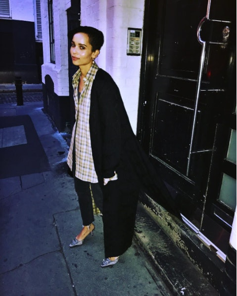 Zoe Kravitz News: Zoë Kravitz Just Dyed Her Hair A Totally Chic New Color