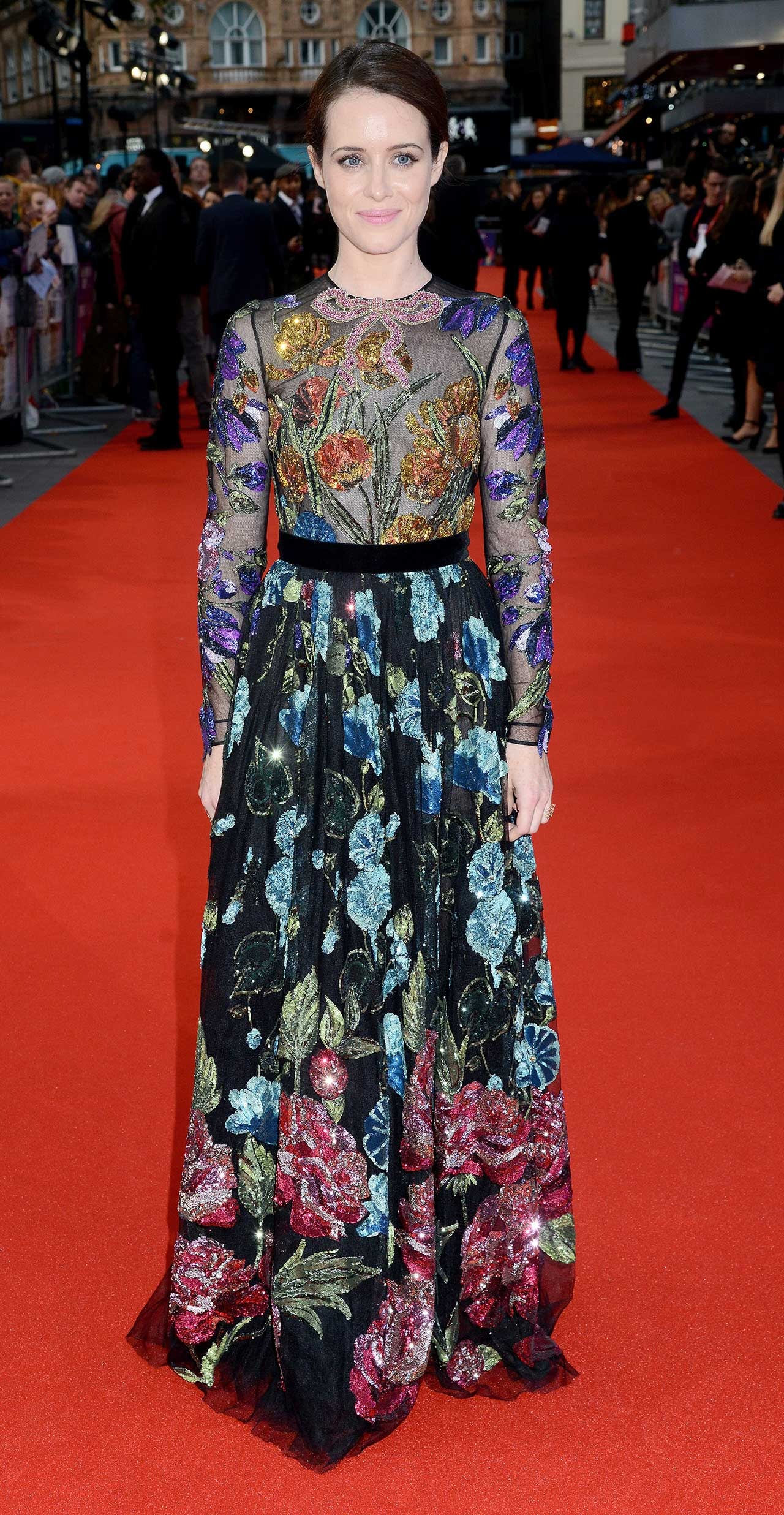 Claire Foy\'s Gucci Gown Is Fit For A Queen