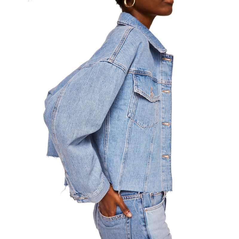 395f2f16ee The Denim Jacket Got A Fashion-Girl Makeover