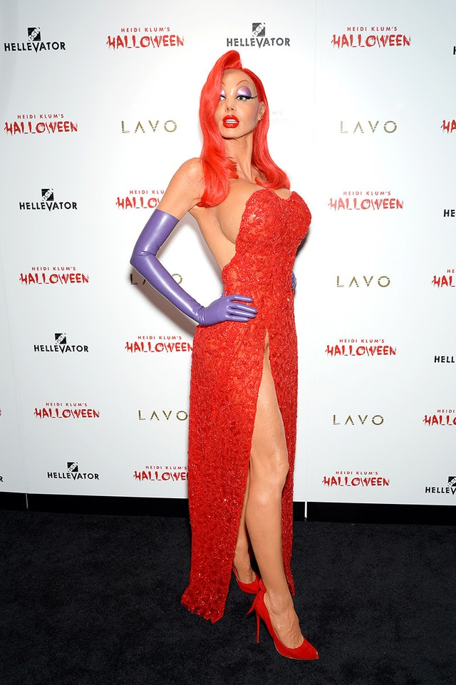 Heidi Klum's Most Over-The-Top Halloween Costumes, Ever
